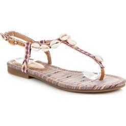 Rzymianki damskie: Sandałki w etnicznym stylu COCO