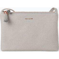 Ted Baker - Damska torba na ramię ze skóry – Maceyy, szary. Czarne torebki klasyczne damskie marki Ted Baker, z materiału. Za 659,95 zł.