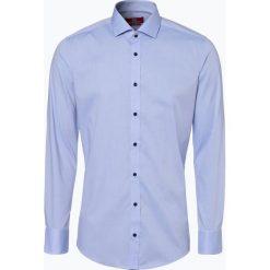 Finshley & Harding London - Koszula męska, niebieski. Czarne koszule męskie na spinki marki Finshley & Harding London, m, z bawełny, z klasycznym kołnierzykiem. Za 199,95 zł.