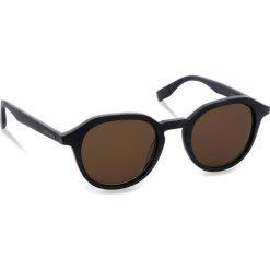Okulary przeciwsłoneczne BOSS - 0321/S Mtblue Wood 2WF. Niebieskie okulary przeciwsłoneczne męskie aviatory Boss, z tworzywa sztucznego. W wyprzedaży za 399,00 zł.