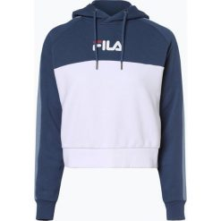 FILA - Damska bluza nierozpinana – Landers, niebieski. Niebieskie bluzy damskie Fila, m, z krótkim rękawem, krótkie. Za 349,95 zł.