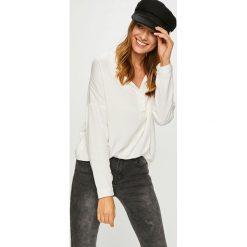 Answear - Koszula. Szare koszule damskie marki ANSWEAR, l, z tkaniny, casualowe, z długim rękawem. W wyprzedaży za 89,90 zł.