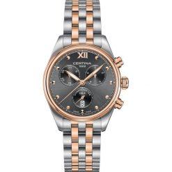 PROMOCJA ZEGAREK CERTINA DS 8 C033.234.22.088.00. Szare zegarki damskie CERTINA, szklane. W wyprzedaży za 2235,20 zł.