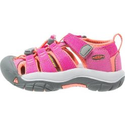 Keen NEWPORT H2 Sandały trekkingowe very berry/fusion coral. Fioletowe sandały chłopięce marki Keen, z materiału. Za 239,00 zł.