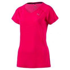 Puma Koszulka Core-Run S S Tee W Sparkling Cosmo Xs. Różowe bluzki sportowe damskie marki Puma, s. W wyprzedaży za 79,00 zł.