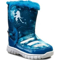 Kozaki dziewczęce: Śniegowce adidas – Disney Frozen Mid I AQ3656 Uniblu/Ftwwht