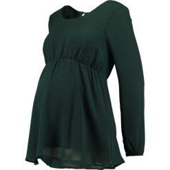 Bluzki asymetryczne: Anna Field MAMA Bluzka dark green