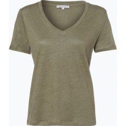 T-shirty damskie: Apriori – Damski T-shirt z lnu, zielony