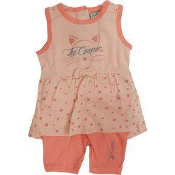 Spodnie niemowlęce: 2-częściowy zestaw w kolorze pomarańczowym