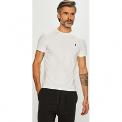 Polo Ralph Lauren - T-shirt. Szare koszulki polo Polo Ralph Lauren, l, z bawełny. Za 259,90 zł.