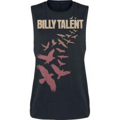 Topy damskie: Billy Talent Birds Top damski czarny