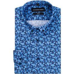 Koszula SIMONE KDWS000205. Niebieskie koszule męskie na spinki Giacomo Conti, na jesień, m, z bawełny, button down. Za 199,00 zł.