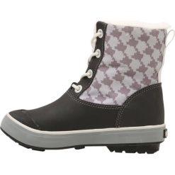 Keen ELSA BOOT WP Śniegowce black/houndstooth. Czerwone buty zimowe damskie marki Keen, z materiału. W wyprzedaży za 271,20 zł.