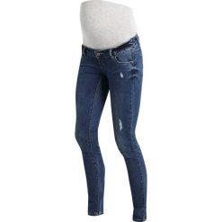 MAMALICIOUS MLALEXIA  Jeansy Slim Fit medium blue denim. Niebieskie jeansy damskie MAMALICIOUS, z bawełny. Za 289,00 zł.