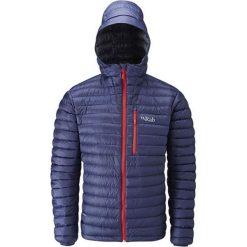 Kurtki sportowe męskie: RAB Męska Kurtka Puchowa Microlight Alpine Jacket Granatowa r. XL