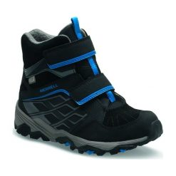 Merrell Buty Zimowe Moab Fst Polar Mid A/C Wtpf Black c13 (32). Czarne buciki niemowlęce chłopięce Merrell, na zimę, z polaru. Za 279,00 zł.