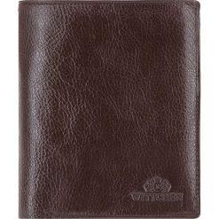 Portfel 21-1-044-4. Brązowe portfele męskie Wittchen. Za 499,00 zł.
