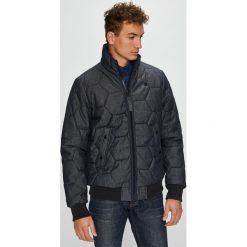 G-Star Raw - Kurtka. Czarne kurtki męskie pikowane marki G-Star RAW, l, z bawełny, retro. W wyprzedaży za 799,90 zł.