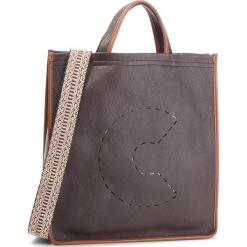 Torebka COCCINELLE - CJ0 C Bag E1 CJ0 18 01 01 T.Moro/Brule 825. Brązowe torebki klasyczne damskie marki Coccinelle, ze skóry. Za 1549,90 zł.