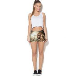 Colour Pleasure Spodnie damskie CP-020 93 brązowe r. XL/XXL. Brązowe spodnie sportowe damskie marki Colour pleasure, xl. Za 72,34 zł.