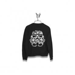 Bluza Ornament Trooper Męska. Czarne bluzy męskie Failfake, m. Za 160,00 zł.