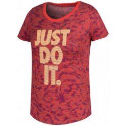 Nike Koszulka G Nsw Tee Tri Scp Tigress Aop Xl. Różowe t-shirty dziewczęce Nike, z tkaniny. W wyprzedaży za 69,00 zł.