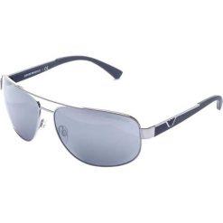 """Okulary przeciwsłoneczne damskie: Okulary przeciwsłoneczne """"EA2036 3010/6G"""" w kolorze niebiesko-srebrnym"""