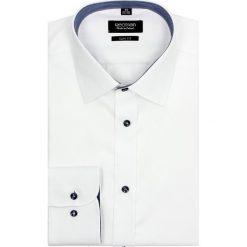 Koszula bexley 2489 długi rękaw slim fit biały. Szare koszule męskie slim marki Recman, na lato, l, w kratkę, button down, z krótkim rękawem. Za 89,99 zł.