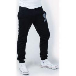Spodnie dresowe męskie: Spodnie dresowe męskie ze ściągaczami