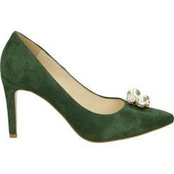 Buty ślubne damskie: Czółenka - 2825 CAM VERD