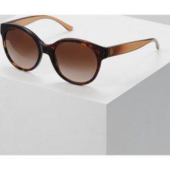 Tory Burch Okulary przeciwsłoneczne dark tort. Brązowe okulary przeciwsłoneczne damskie aviatory Tory Burch. Za 649,00 zł.