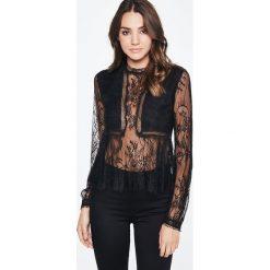 Bluzki asymetryczne: Bardot JAMIE Bluzka black