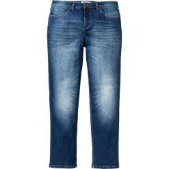 """Dżinsy Regular Fit Straight bonprix niebieski """"used"""". Niebieskie jeansy męskie regular marki House. Za 109,99 zł."""