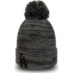 New Era - Czapka. Czarne czapki zimowe męskie New Era, z dzianiny. Za 139,90 zł.