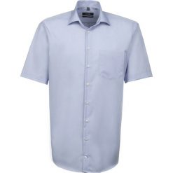 Koszule męskie na spinki: Seidensticker Koszula blau