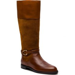 Oficerki LAUREN RALPH LAUREN - Harlee 802719120001 Deepsaddletan/Whiskey. Brązowe buty zimowe damskie Lauren Ralph Lauren, ze skóry, na obcasie. Za 879,90 zł.