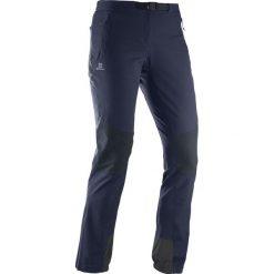 Spodnie sportowe damskie: Salomon Spodnie damskie Wayfarer Mountain Pant W granatowe r. 38