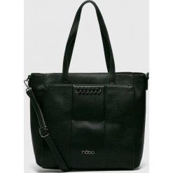 Nobo - Torebka. Czarne torebki klasyczne damskie Nobo, z materiału, duże. Za 239,90 zł.