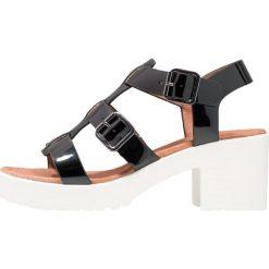 Sandały damskie: No Name TANGO Sandały na platformie glass black