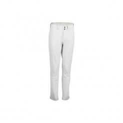 Spodnie baseball BA 550. Szare bryczesy damskie KIPSTA, s, z elastanu, na fitness i siłownię. Za 109,99 zł.
