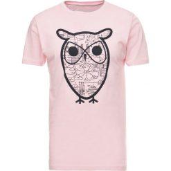 T-shirty męskie z nadrukiem: Knowledge Cotton Apparel DIAGRAM OWL  Tshirt z nadrukiem orchid pink