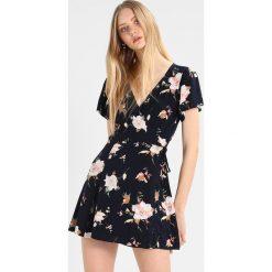 Sukienki hiszpanki: Abercrombie & Fitch WRAP DRESS  Sukienka letnia navy