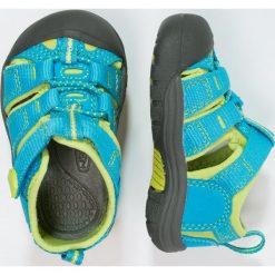Keen NEWPORT H2 Sandały trekkingowe hawaiian blue/green glow. Czerwone sandały chłopięce marki Keen, z materiału. Za 169,00 zł.