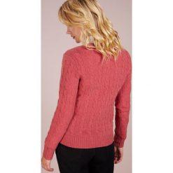 Polo Ralph Lauren KIMBERLY  Sweter red slate heather. Czerwone swetry klasyczne damskie Polo Ralph Lauren, xl, z kaszmiru, polo. Za 629,00 zł.