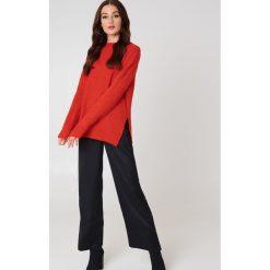 Swetry damskie: Trendyol Sweter z półgolfem - Red