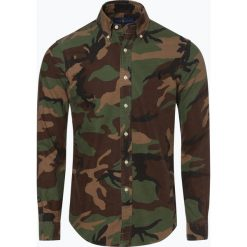 Polo Ralph Lauren - Koszula męska – Slim Fit, zielony. Zielone koszule męskie na spinki Polo Ralph Lauren, m, moro, polo. Za 579,95 zł.