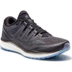 Buty SAUCONY - Freedom Iso 2 S20440-1 Blk. Czarne buty do biegania męskie Saucony, z materiału. W wyprzedaży za 429,00 zł.