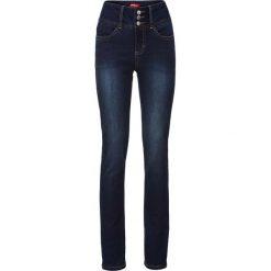 """Dżinsy """"power-stretch"""" SLIM bonprix ciemnoniebieski. Niebieskie jeansy damskie slim marki House, z jeansu. Za 124,99 zł."""