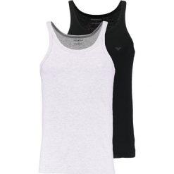 Podkoszulki męskie: Emporio Armani 2 PACK Podkoszulki black/heather gray
