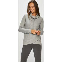 Roxy - Bluza. Szare bluzy rozpinane damskie Roxy, l, z bawełny. W wyprzedaży za 239,90 zł.